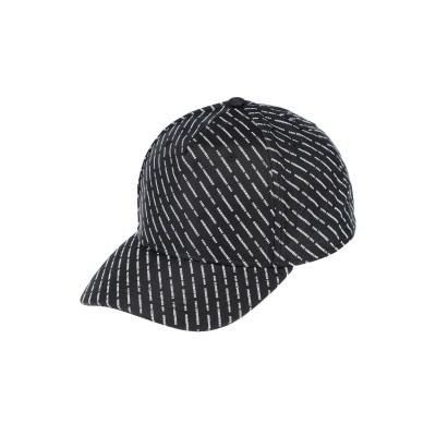 ディースクエアード DSQUARED2 帽子 ブラック one size ナイロン 50% / ポリエステル 50% 帽子