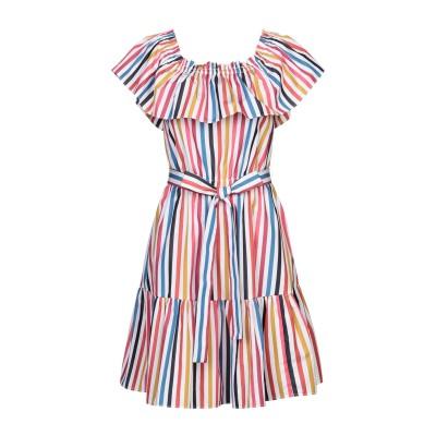 タラ ジャーモン TARA JARMON ミニワンピース&ドレス ホワイト 42 コットン 100% ミニワンピース&ドレス