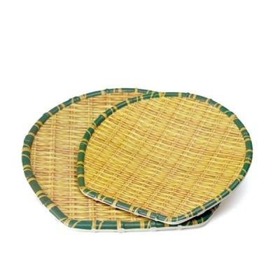 竹風メラミンプレート 箕ザル 小(91-304S)キッチン、台所用品