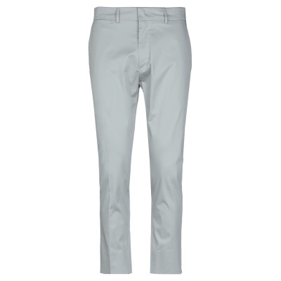 LOW BRAND パンツ ライトグレー 33 コットン 96% / ポリウレタン 4% パンツ