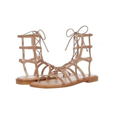 Stuart Weitzman スチュアートワイツマン レディース 女性用 シューズ 靴 サンダル Kora Lace-Up - Tan