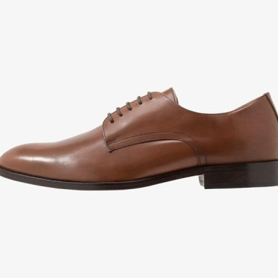 ジェオックス メンズ 靴 シューズ SAYMORE - Smart lace-ups - cognac