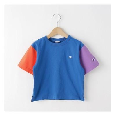 【デッサン/Dessin】 【110-120cm】champion バイカラーTシャツ
