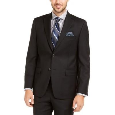 ラルフローレン メンズ ジャケット・ブルゾン アウター Men's Slim-Fit UltraFlex Stretch Black Solid Suit Jacket