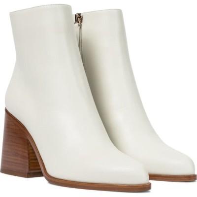 ガブリエラ ハースト Gabriela Hearst レディース ブーツ ショートブーツ シューズ・靴 ava leather ankle boots Cream