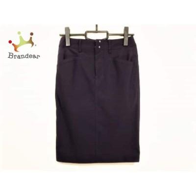 ソブ ダブルスタンダード SOV. スカート サイズ36 S レディース ネイビー       スペシャル特価 20200427