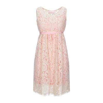 SWEET SECRETS ミニワンピース&ドレス ベージュ 40 ポリエステル 85% / レーヨン 15% ミニワンピース&ドレス