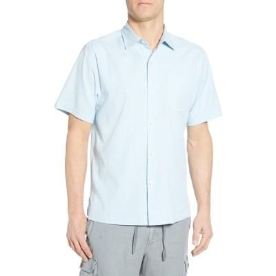 トッミーバハマ メンズ シャツ トップス Catalina Short Sleeve Sport Shirt OPAL