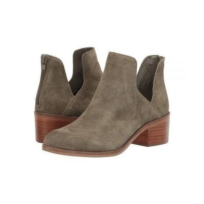 Steve Madden スティーブマデン レディース 女性用 シューズ 靴 ブーツ アンクルブーツ ショート Lancaster Bootie - Olive Suede