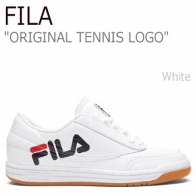 フィラ スニーカー FILA メンズ レディース ORIGINAL TENNIS LOGO オリジナル テニス ロゴ ホワイト FS1HTZ3402X シューズ