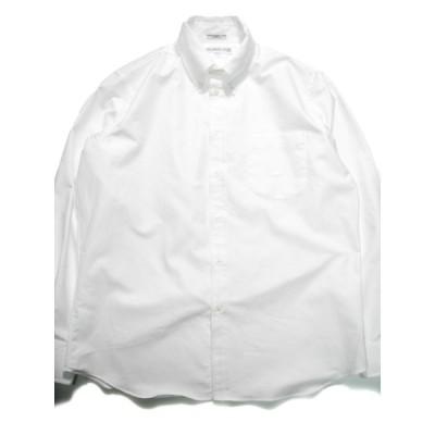 INDIVIDUALIZED SHIRTS OXFORD SHIRT WHITE インディビジュアライズドシャツ