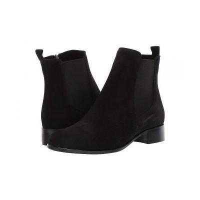La Canadienne ラカナディアン レディース 女性用 シューズ 靴 ブーツ アンクルブーツ ショート Salem - Black Suede