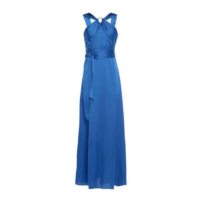 MARCIANO ロングワンピース&ドレス ブライトブルー 2 ポリエステル 100% ロングワンピース&ドレス