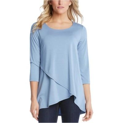 レディース 衣類 トップス Karen Kane Womens Asymmetrical Pullover Blouse ブラウス&シャツ