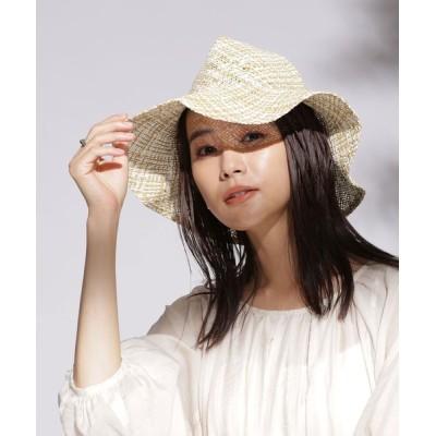 nano・universe / La Maison de Lyllis/LETTER 折り畳み中折れハット WOMEN 帽子 > ハット