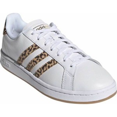 アディダス レディース スニーカー シューズ Women's adidas Grand Court Sneaker FTWR White/FTWR White/Cardboard