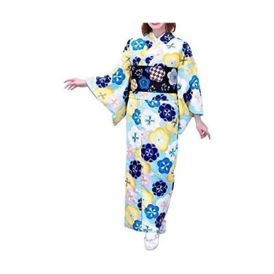 (キョウエツ) KYOETSU ククー メモワール レディース洗える袷着物 仕立て上がり (19-Ba L)