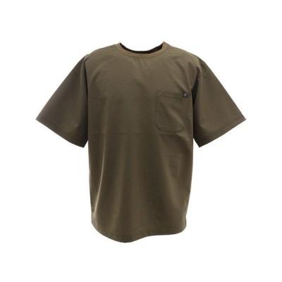 【17日P最大20倍】パワー・トゥ・ザ・ピープル(POWER TO THE PEOPLE) QUICK DRY STRETCH 半袖Tシャツ 0512103-31 KHA (Men's)