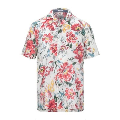 PEPE JEANS 柄入りシャツ ファッション  メンズファッション  トップス  シャツ、カジュアルシャツ  長袖 ホワイト