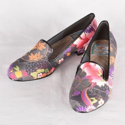 パンプス/靴/和雑貨・和小物/kikou スリッポンパンプス・M/gouk