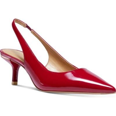 マイケル コース Michael Kors レディース パンプス シューズ・靴 Page Slingback Pumps Scarlet Red