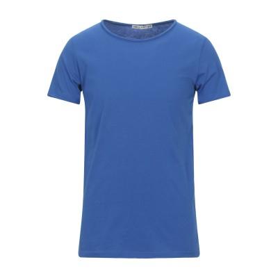 NEILL KATTER T シャツ ブライトブルー L コットン 100% T シャツ