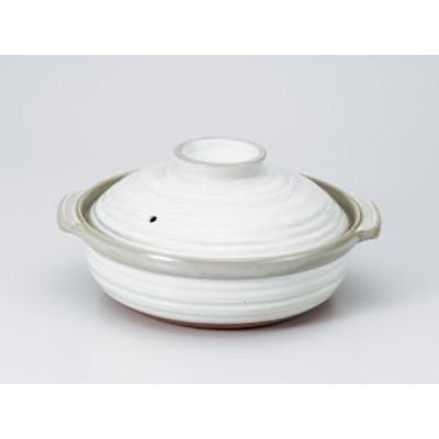 【和食器 鍋 土鍋 深鍋】粉吹IH対応9号鍋(プレート付)