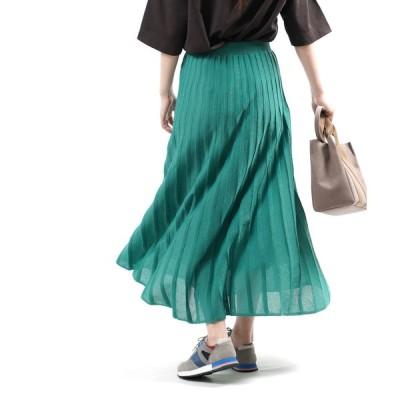 ザ シンゾーン プリーツニットスカート PLEATS KNIT SKIRT THE SHINZONE 2021春夏新作 レディース 国内正規品