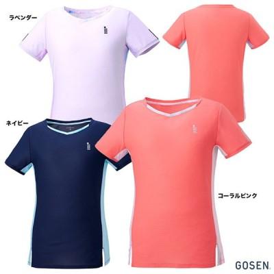 【ポイント10%】ゴーセン GOSEN テニスウェア レディス ゲームシャツ T2061