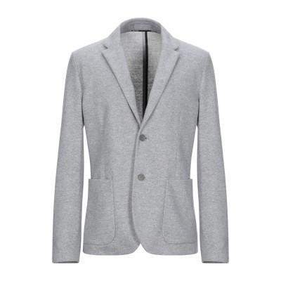 パオロ ペコラ PAOLO PECORA テーラードジャケット ライトグレー 50 ウール 53% / ポリエステル 42% / ナイロン 5% テ