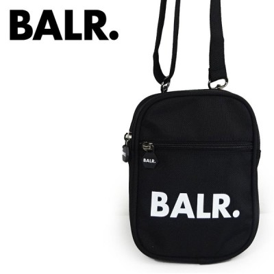 BALR. ボーラー ボディバッグ ユニセックス  B10035 U-SERIES CROSS BODY BAG ブラック Neck Pack  ミニショルダーバッグ ギフト プレゼント 並行輸入品