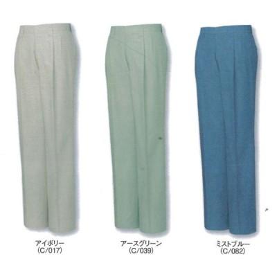 自重堂 作業服 作業着 45601 ツータックパンツ 綿100% 91〜106cm