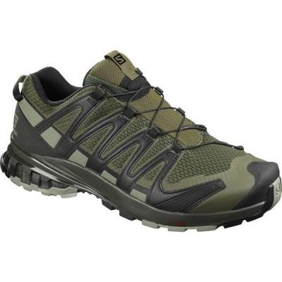 サロモン スニーカー メンズ シューズ XA Pro 3D V8 Wide Trail Running Shoe - Men's Grape Leaf/Peat/Shadow