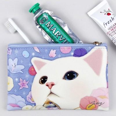 jetoy ジェトイ choochoo本舗 猫雑貨 猫のスリムポーチS2 ヘブン ねこ かわいい