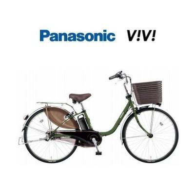 パナソニック ビビ DX 26型 マットカーキグリーン BE-ELD636 16.0Ah 限定カラー