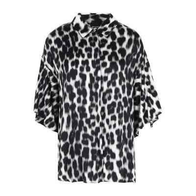 ジャストカヴァリ JUST CAVALLI シャツ グレー 36 レーヨン 100% シャツ