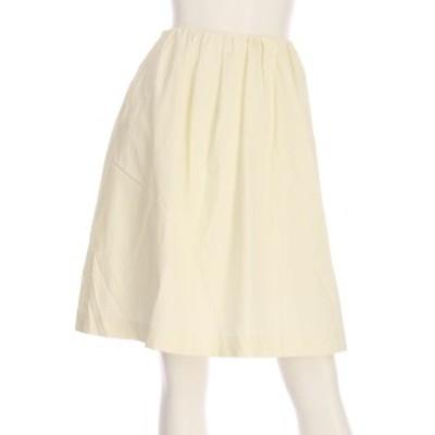 ボールジー BALLSEY スカート サイズM レディース ホワイト系 フレアスカート【中古】20210305
