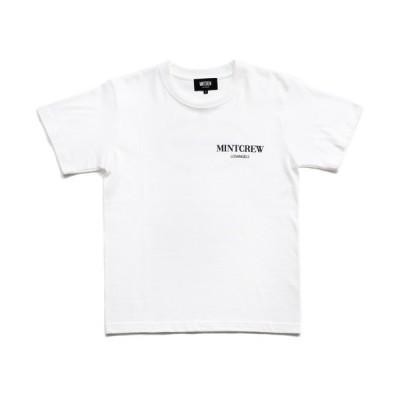 tシャツ Tシャツ 【MINTCREW】ROPE LOGO TEE / ロープ ロゴ ワンポイント Tシャツ