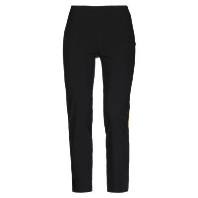 AVENUE MONTAIGNE パンツ ブラック 2 レーヨン 75% / ナイロン 22% / ポリウレタン 3% パンツ