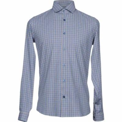 リウジョー LIU JO MAN メンズ シャツ トップス Checked Shirt Blue