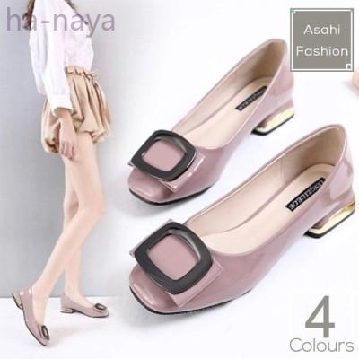 パンプス走れるパンプスバレエカジュアルバレエパンプスリボンあるきやすいおしゃれ靴婦人靴