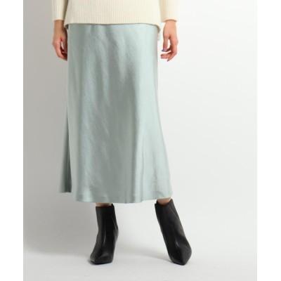 COUP DE CHANCE(クードシャンス) マーメイドサテンスカート