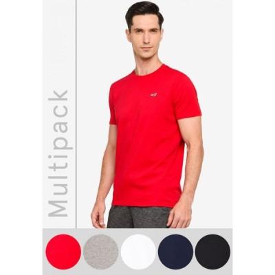 ホリスター Hollister メンズ Tシャツ トップス Multipack Crew Neck T-Shirt Multi