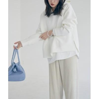 archives / 【web限定】ボンディングパーカー×ロングTシャツセット WOMEN トップス > パーカー
