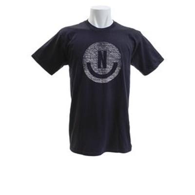 Tシャツ メンズ 半袖 SMILEY TEE BK オンライン価格
