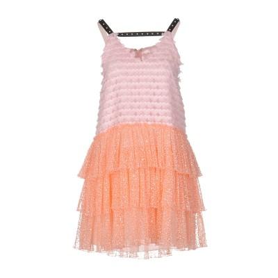 ジャンバ GIAMBA ミニワンピース&ドレス ピンク 44 ポリエステル 100% / ナイロン / レーヨン ミニワンピース&ドレス