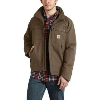 カーハート メンズ ジャケット・ブルゾン アウター Carhartt Men's Quick Duck Jefferson Traditional Jacket Canyon Brown