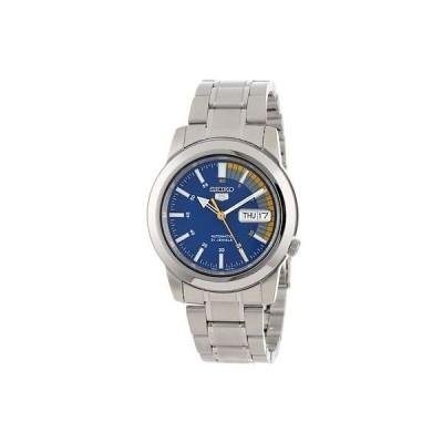 セイコー New Seiko 5 スポーツ メンズ SNKK27J1 ブルー ダイヤル 腕時計