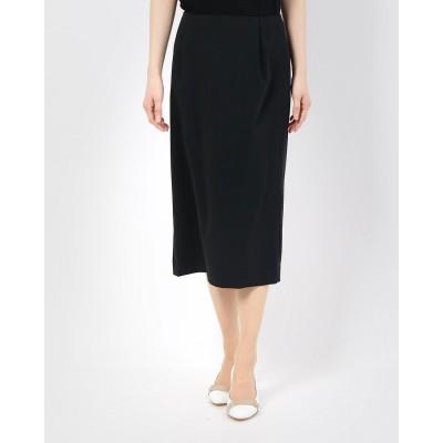 リネーム Rename ストレッチタックタイトスカート (ブラック)