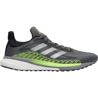 アディダス adidas メンズ ランニング・ウォーキング シューズ・靴 Solar Glide ST 3 Grey Five/Silver Metallic/Signal Green
